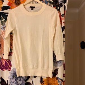 "J. Crew ""Tippi"" 3/4 sleeve lightweight sweater"